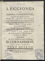 Lecciones de physica experimental. Vol. 4